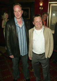 Tom McGrath and Eric Darnell at the premiere of