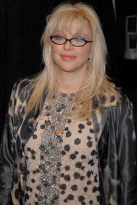Courtney Love at the book signing of