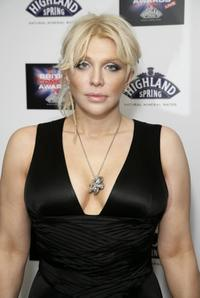 Courtney Love at the British Comedy Awards 2006.