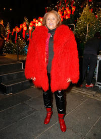 Darlene Love at the 27th Annual Seaport Chorus Tree Lighting in New York.