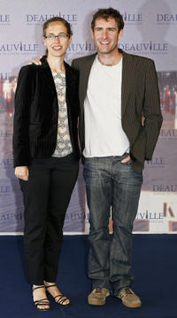 Producer Kelly Miller and Paul Fitzgerald at the photocall of