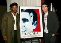 Russell Hornsby and Paul Fitzgerald at the screening of