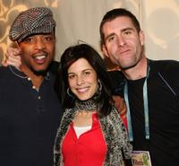 Russell Hornsby, Susan Floyd and Paul Fitzgerald at the Gersh Agency party during the Sundance Film Festival.