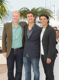 Noah Emmerich, director Doug Liman and Khaled Nabawy at the photocall of