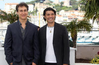 Director Doug Liman and Khaled Nabawy at the photocall of