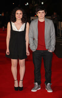 Yasmin Paige and Craig Roberts at the UK premiere of