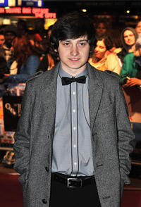 Craig Roberts at the premiere of