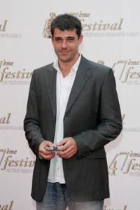 Thierry Neuvic at the opening night of the 2007 Monte Carlo Television Festival.