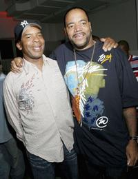 David Alan Grier and Ed Lover at the VH1's 2005 Hip Hop Honors Pre-party.
