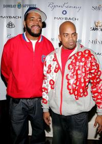 Ed Lover and Ticky Diamondz at the Sapporo & Mercedes Benz Maybach Presents VMA Cookout 2006.