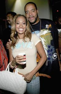 LaLa Vasquez and Ed Lover at the VH1's 2005 Hip Hop Honors Pre-party.