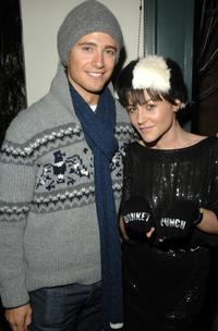 Julian Morris and Jaime Winstone at the UK Film Council party during the 2008 Sundance Film Festival.