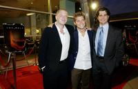 Producer Beau Bauman, Julian Morris and Jeff Wadlow at the after party of the premiere of