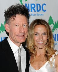 Lyle Lovett and Sheryl Crow at the Natural Resources Defense Council's 12th Annual