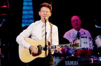 Lyle Lovett at the Central Park SummerStage.