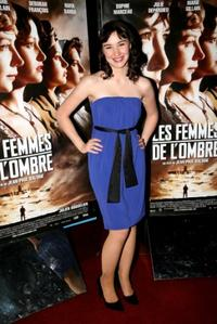 Deborah Francois at the premiere of
