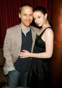 Chad Lowe and Michelle Trachtenberg at the Sarasota Film Festival.