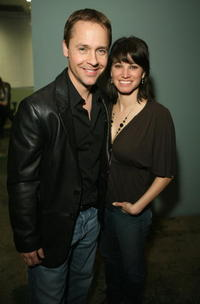 Chad Lowe and Kim Painter at the launch party of the new book by Kerry Max Cook entitled