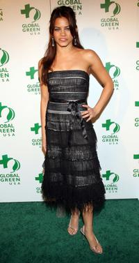 Jenna Dewan at the Global Green USA's Annual Oscar party.