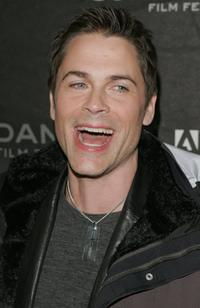 Rob Lowe at the 2006 Sundance Film Festival.