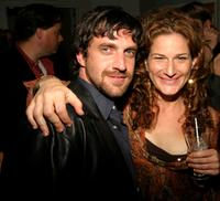Raul Esparza and Ana Gasteyer at the Benefit Concert For