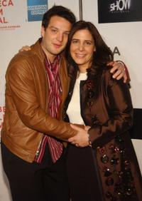 Director Dori Bernstein and Euan Morton at the screening of