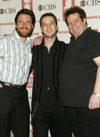 Raul Esparza, Euan Morton and Bobby Pierce at the 2004 Tony Awards Nominees Press Reception.