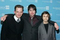 Clay Steakley, Edward Hogg and Owen Campbell at the screening of
