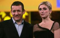 Dany Boon and Julie Gayet at the closing ceremony of the International Film Festival of Marrakech.