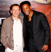 Dany Boon and Will Smith at the premiere of