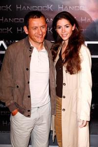 Dany Boon and his wife Yael Harris at the premiere of