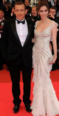 Dany Boon and Yael Boon at the premiere of