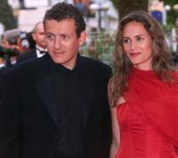 Dany Boon and his wife Judith GodrFche at the screening of
