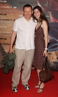 Dany Boon and Yaelle Boon at the premiere of