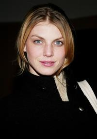 Angela Lindvall at the special advance screening of