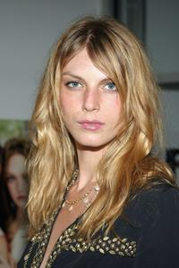 Angela Lindvall at the Ann Taylor 50th Anniversary Celebration With Vogue during the Olympus Fashion Week Spring 2005.