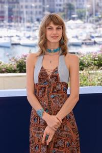 Angela Lindvall at the photocall of