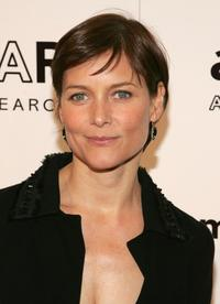 Carey Lowell at the AmFAR Gala honoring the work of John Demsey and Whoopi Goldberg.