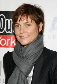 Carey Lowell at the 15th Annual Artwalk NY.