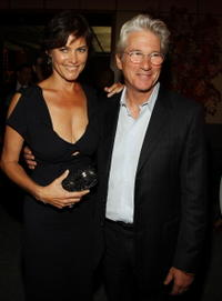 Carey Lowell and Richard Gere at the after party of the premiere of
