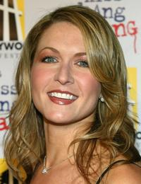 Ali Hillis at the California premiere of