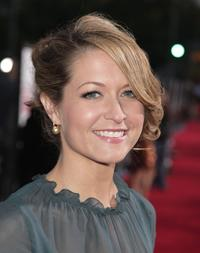 Ali Hillis at the Los Angeles premiere of