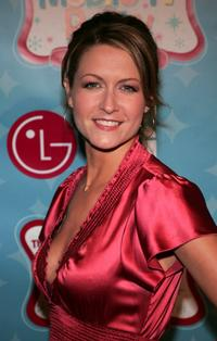 Ali Hillis at the LG's Mobile TV Party.