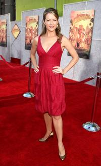 Ali Hillis at the world premiere of