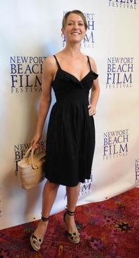 Ali Hillis at the premiere of