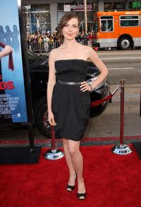 Amanda Walsh at the Los Angeles premiere of
