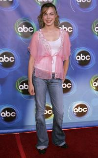 Amanda Walsh at the ABC TCA party.