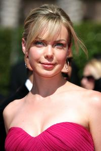 Amanda Walsh at the 59th Annual Primetime Emmy Awards.