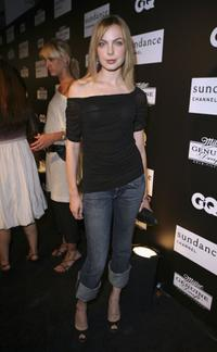 Amanda Walsh at the Sundance Channel, GQ Magazine and Miller Genuine Draft celebrating the launch of House of Boateng.