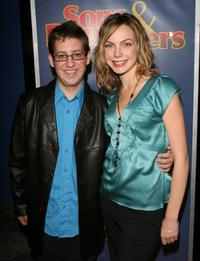 Trevor Einhorn and Amanda Walsh at the premiere of